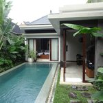 The view of 1 bedroom villa with private pool