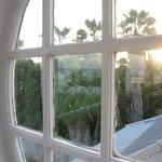 Sunrise from the villa