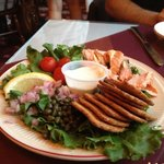 Smoked salmon appetizer - the best!