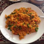 Veg Biryani.  Good, not a ton of flavor.