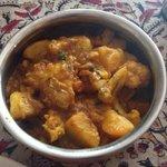 Aloo gobi, good dish.