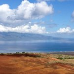 View of Molokai from the Garden of the Gods