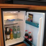the Mini Bar- Plus Points for low prices !