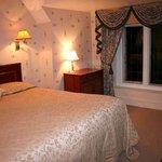 Beautiful bedroom in Barham suite, Broome Park