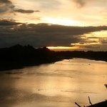 Sunset over South Luangwe River
