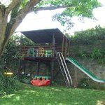 Tree House with slide and toys