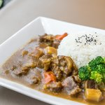 Japanese Beef Curry on Rice 日式咖哩牛腩飯