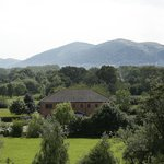 Our golf course with Malvern Hills in background