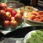 beakfast, fruits selection