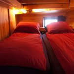 Wheelhouse bunk bed / bedroom