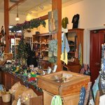 gift shop with items from local artisans