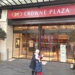 ingresso al Crowne Plaza