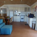 kitchen/ lounge/dining