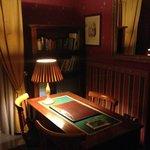 Scrittoio sala lettura