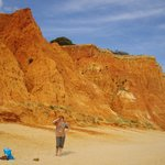 Песчаные дюны на берегу Атлантического океана