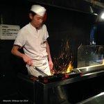 Yakitori Chef at Akiyoshi