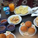 Sabah's yummy breakfast