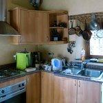 Küche der Ifri-Suite