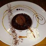 Truffe menthe chocolat