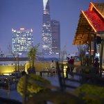 Saigon Grill by night