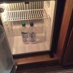 No mini bar, just fridge