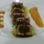 Tataki de Atun y calabaza