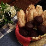 Baguettes & Freshly baked Chocolate Muffins