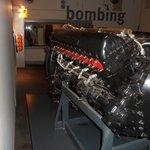 Rolls Royce Merlin mark 73 aero engine