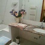 notre salle de bains privative