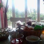 la colazione con vista