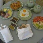Tgen betaling ontbijt in cottage mogelijk.