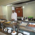 Buffet breakfast at Rimjhim