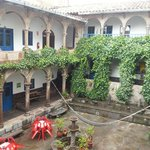 View of second patio of Milhouse Hostel