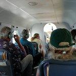 Inside a Float Plane