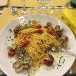 spaghetti e vongole senza GLUTINE