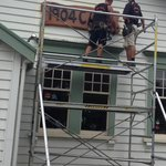 1904 Cafe sign now up