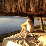 Lugar perfeito para pensar na vida =)