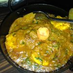 Nicely spiced Nepalese curry