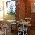 Sunny cheerful breakfast room