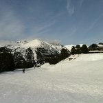 Las temperaturas, los días de sol y la nieve son los mejores en esta zona del Pirineo