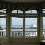 Suite #104 and the view of Nubble Light