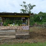 Side of the road fruit stall