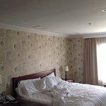 cama del cuarto
