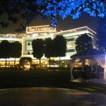Night time front of Hotel