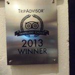 Premio TripAdvisor y bien merecido