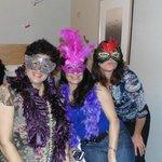 Mardi Gras Party in Suite