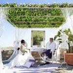Wedding Memories - on hotel grounds (terrace)