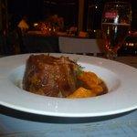 Lomo de cerdo al horno de barro con boniato....