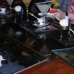 BR Prime's Nitrogen frozen alcohol balls cool martinis
