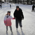 Ice Skating...On a real pond!